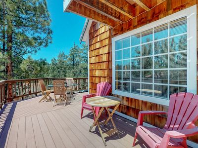Photo for NEW LISTING! Roomy home w/spacious deck, great location near marina and hiking