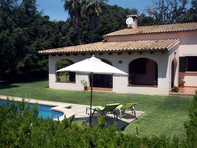 Photo for Quiet family Villa in Pollensa countryside with pool,  just 3 km from town