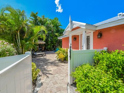 Photo for Charming Cottage, just one block off beach with private pool. Come stay awhile!