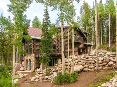 Photo for Luxury, ski in/ski out home with hot tub near Brighton Ski Resort.
