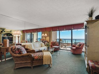 Photo for Gulf Front 2 bedroom Unit# 405 at Emerald Towers!