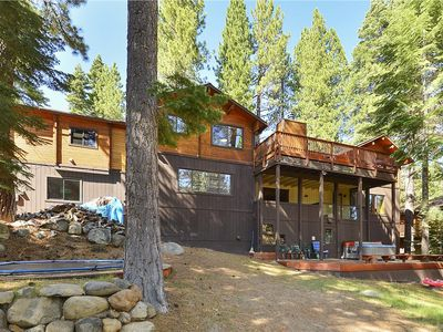 Photo for Tahoe City Getaway *Hot Tub, Pet Friendly Trampoline!