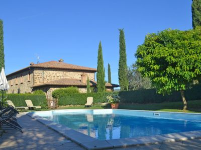 Photo for 7 bedroom Villa, sleeps 16 with Pool, FREE WiFi and Walk to Shops