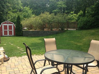 Photo for Private Yard With Pool, Outdoor Shower, Close To Water. Family And Pet Friendly.