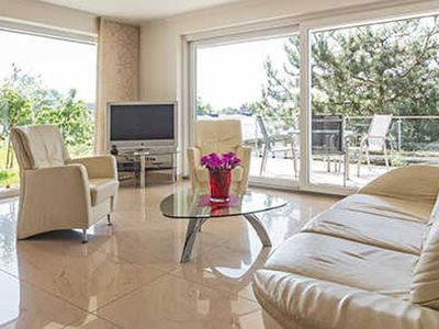 Photo for Garden floor2 without sea view - Villa Baltic Sea 5 * with sea and Boddenblick