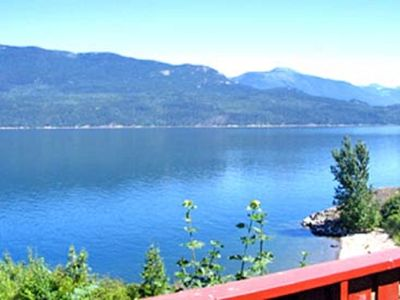 Photo for Directly Across the Road From Ainsworth Hot Springs, Overlooking Kootenay Lake.