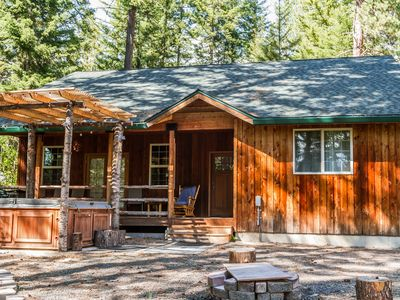 Photo for Year Round Adventure on 2 acres. WiFi, Hot Tub, near trails/Suncadia
