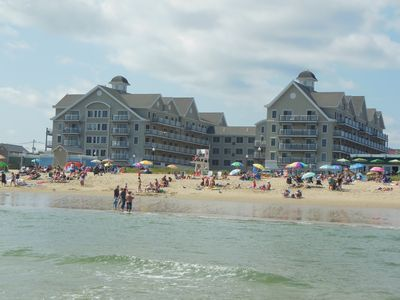Photo for Modern Oceanview Condo in the center of Charming Old Orchard Beach