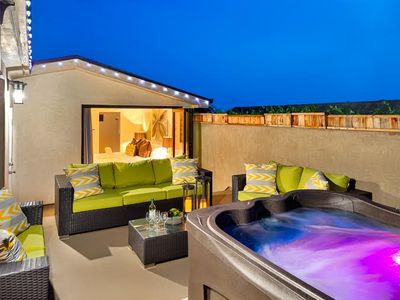 Photo for Modern Beach Luxury w/ Jacuzzi + Rooftop Deck
