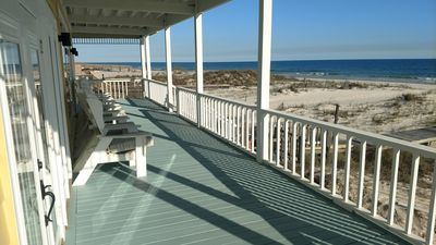 Photo for Spacious Gulf Front Beauty!  Private Peaceful Beach Living!