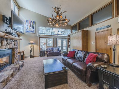 Photo for Remodeled Ski in Ski out two bedroom at the full service Iron Horse Resort.