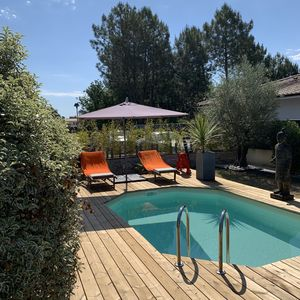 Photo for Villa with pool south-bassin d'arcachon
