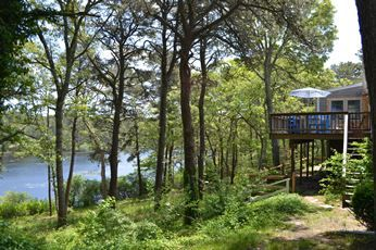 Photo for WONDERFUL SETTING LOCATED RIGHT ON PERCH POND!!  ENJOY THE WATER VIEW, KAYAKING, CANOEING AND FISHING!