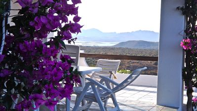 Photo for Apartment in villa with with spectacular 180° view on Tavolara Island