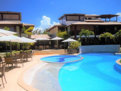 Photo for BEAUTIFUL DUPLEX NEW 3 SUITES SWIMMING POOL GOURMET TERRACE NEAR THE SEA AND VILLAGE