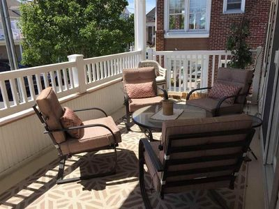 Photo for Beautiful 3 Br/2 Bath Condo In Wildwood, one block to the Beach and Boardwalk