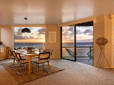 Photo for 3BR Condo at Mission Beach! Ocean Views | Steps from Sea World ❤ by AvantStay