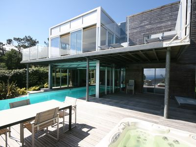 Photo for Modern villa with sea views, pool and jacuzzi on the Crozon Peninsula