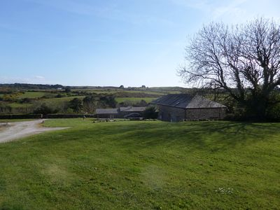 The cottages stand to the right of the Engine House on the previous photo