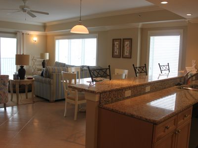 Photo for Escapes to the Shores #1305.  Spacious Oceanfront 4 Bedroom Corner Unit