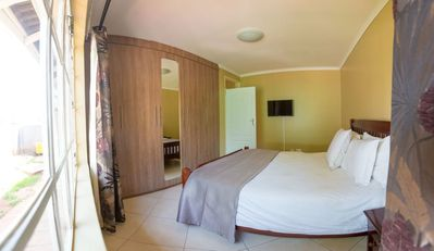 Photo for 2 Bed roomed fully furnished and secure apartment,very close to shopping center.
