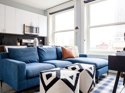 Photo for Sonder | The Plymouth | Contemporary 3BR + Gym