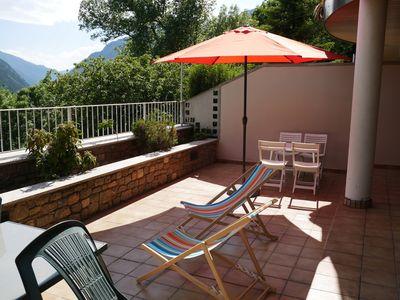 Photo for Semi-detached house with 3 bedrooms and a large terrace with magnificent views
