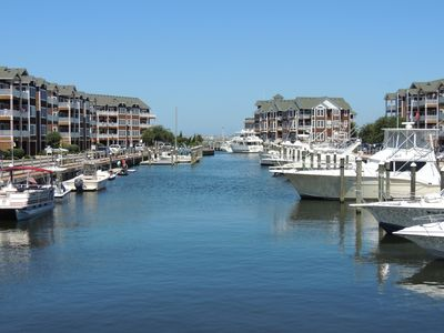 Photo for Outer Banks Beautiful Waterfront Condo with Elevator!