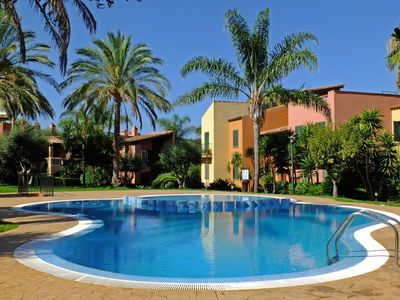 Photo for Beautiful apartment with sea views, surrounded by gardens and three swimming pools