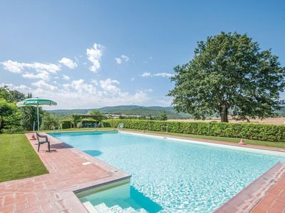 Photo for Alluring Apartment in Casole d'Elsa with Swimming Pool