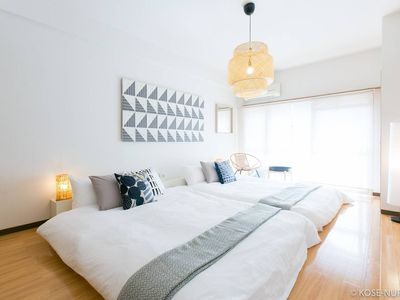 Photo for 2 BR apartment - 3 mins to the PeacePark 202