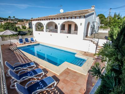Photo for Cometa - holiday home with private swimming pool in Benissa