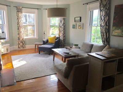 Photo for Large Arlington townhome close to shops public transport Boston and Cambridge.