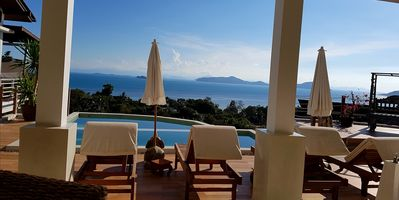 Photo for Stunning property with panoramic ocean views