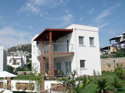 Photo for Dilek Homes Standart Villa Yalikavak. With shared swimmingpool, Rental for weekly, monthly