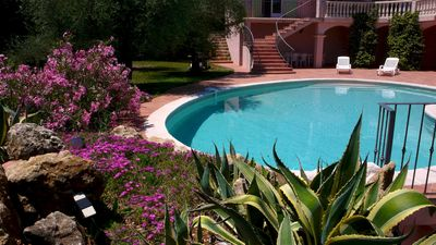 Photo for Stunning 5 bedrooms villa in Cote d'Azur, private pool & garden, panoramic view