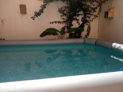 Photo for Peaceful home near the sea,with an above ground swimming pool ideal for children