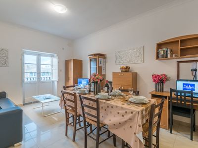 Photo for Lovely 3 bedroom apartment located just 400m from Sliema seafront and promenade.