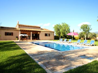 Photo for OFFER for OCTOBER! Villa with jacuzzi, private pool and garden for 6 guests