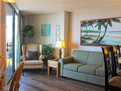 Photo for Great views of the Beach! Meridian Plaza  507: 1 BR / 1 BA condo in Myrtle Beach