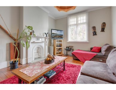 Photo for Large, sunny unit walking distance to two beaches