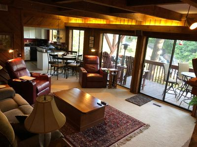 Photo for FALLING WATERS ~ 2b/2b UPSCALE,  SPECTACULAR , DECK OVER TOXAWAY FALLS