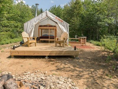 Photo for Tentrr - Pond Camp - One Bedroom Camping, Sleeps 4