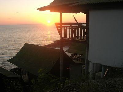 Photo for Double Fan Bungalow with Ocean View