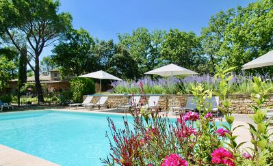 Photo for Provencal farmhouse in Gordes with pool,  a quiet place for a relaxing holiday