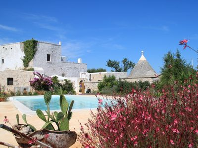 Photo for Ancient farmhouse with swimming pool in Puglia - exclusive use