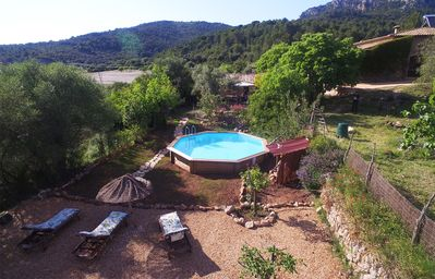 Photo for Cottage with pool in Serra Tramuntana. Families and friends