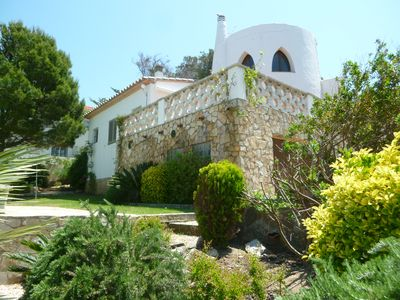Photo for Lovely Villa With Wonderful Swimming Pool, Magnificent Sea Views, Garden