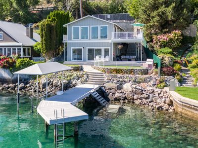 Photo for WATERFRONT HOME WITH PRIVATE DOCK AND BOAT LIFT