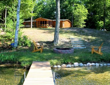 Photo for Affordable Large Cabin On Bass Lake! Comes with two kayaks!